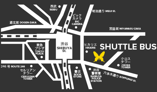 ageha shuttle map