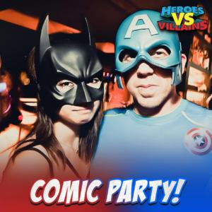 Comic Party Halloween
