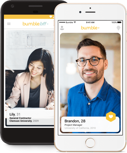 bumble dating app location